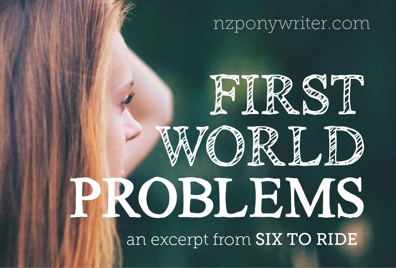 First world problems banner